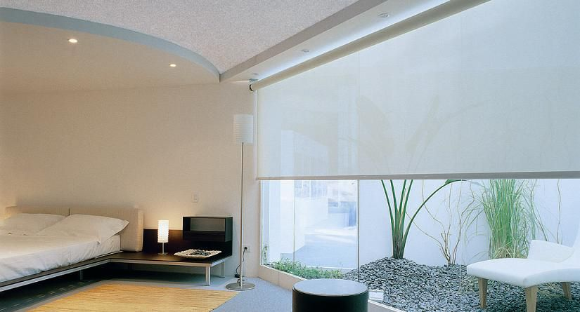 Electric Blinds by Luxaflex and Sunway | Designer Curtains and .
