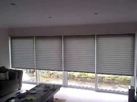 Electric Blinds over BI-Fold Doors | Premier Blinds & Awnings .