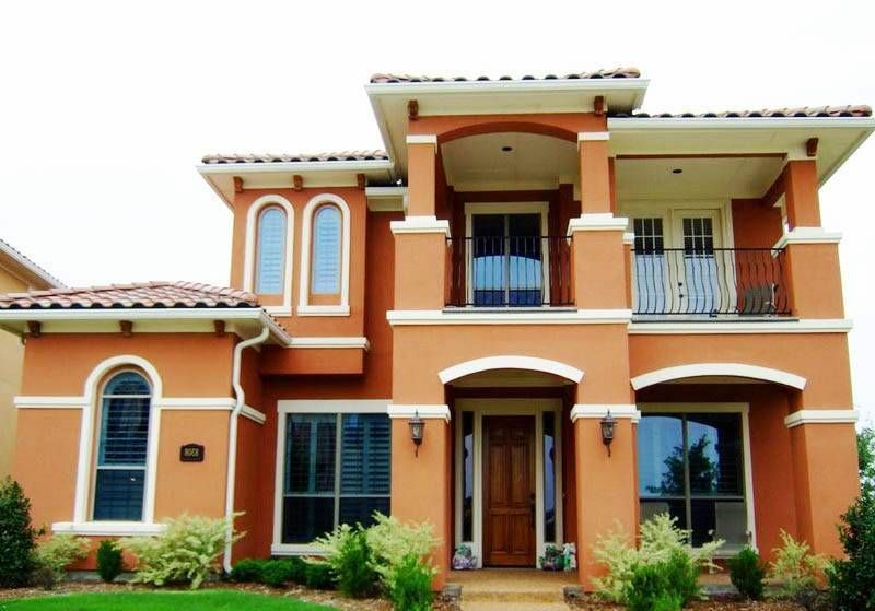 Home Design and Decor , Exterior Home Paint Colors : Terracotta .