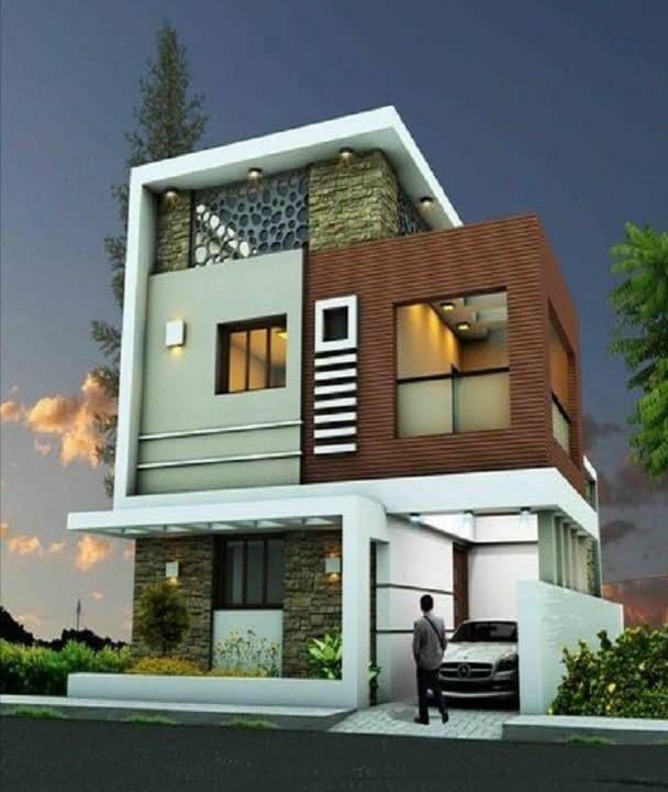 Best Modern House Design Exterior - Best Modern House Elevation .