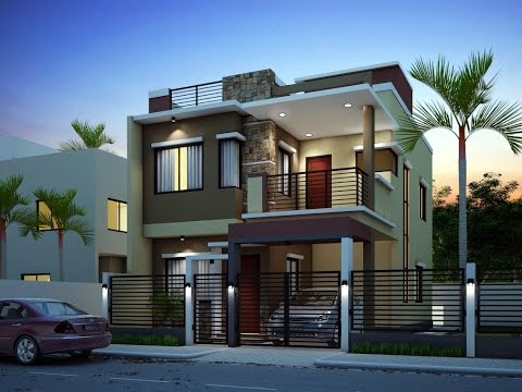 modern house exterior painting home design ideas - YouTu