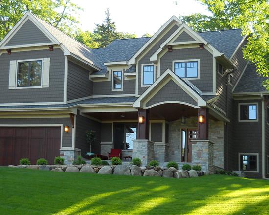 Home Traditional Exterior House Design Traditional Exterior House .