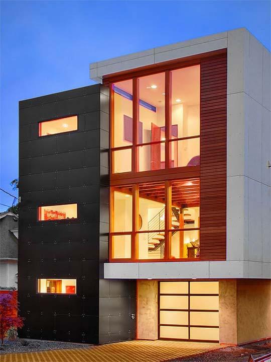 Home Decorating Cheap: Minimalist exterior house design ide