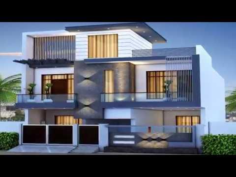 Modern Home Design Ideas Outside ( Exterior design Ideas ) house .