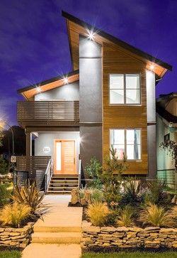 71 Contemporary Exterior Design Photos | Facade house .