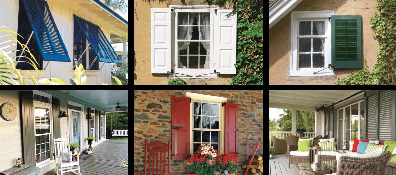 Exterior Window Shutters   Customize Yours   Timberla