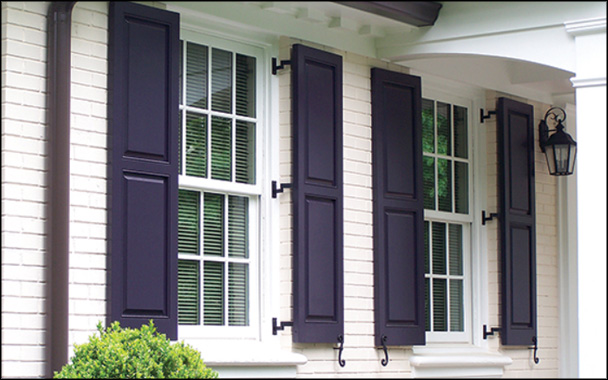 Exterior Shutters: Choosing the Right Shutters for Your Ho
