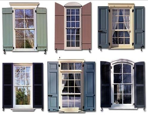 exterior shutters 2019 (With images)   Shutters exterior, Exterior .