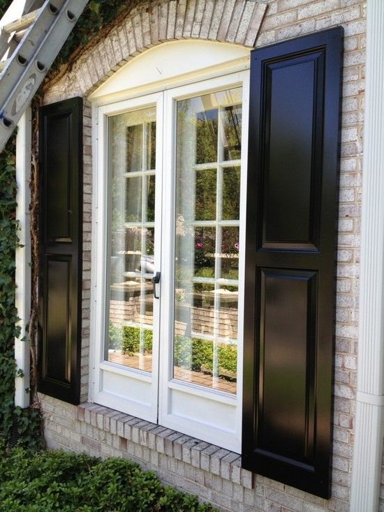 Exterior Shutters Design, Pictures, Remodel, Decor and Ideas .