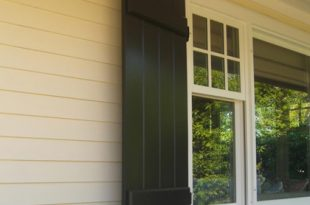 Board and Batten Shutters, Exterior Shutter Panels   Hooks and .