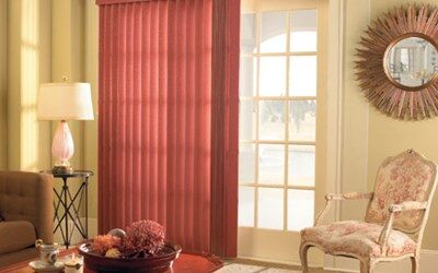 Levolor Vertical Fabric Blinds | Blinds | AmericanBlinds.c