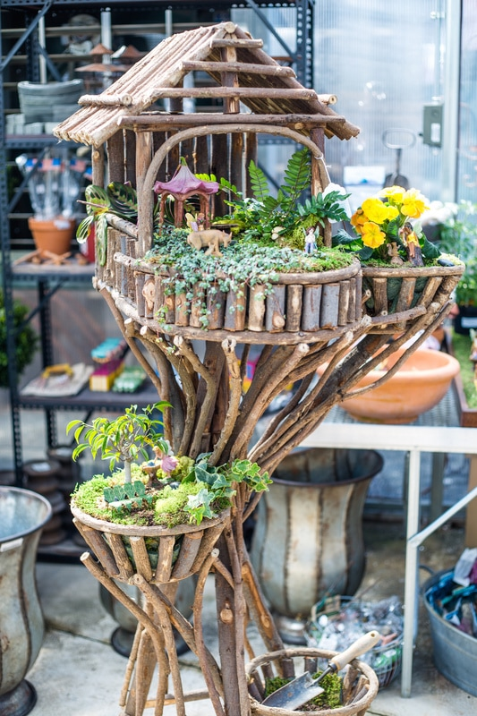 Grelen Fairy Gardens - The Market at Grel