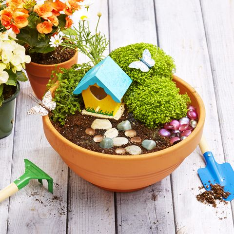 Make a Mini Magic Garden - DIY Fairy Gard