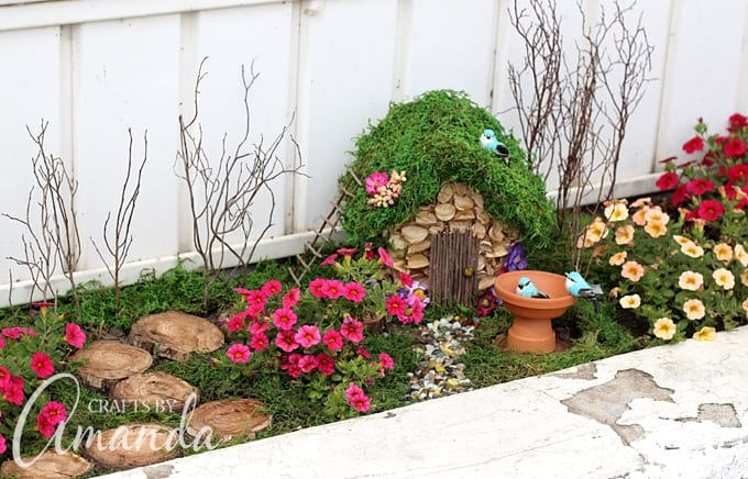 Fairy Gardens: How to Start a fairy garden - Crafts by Aman