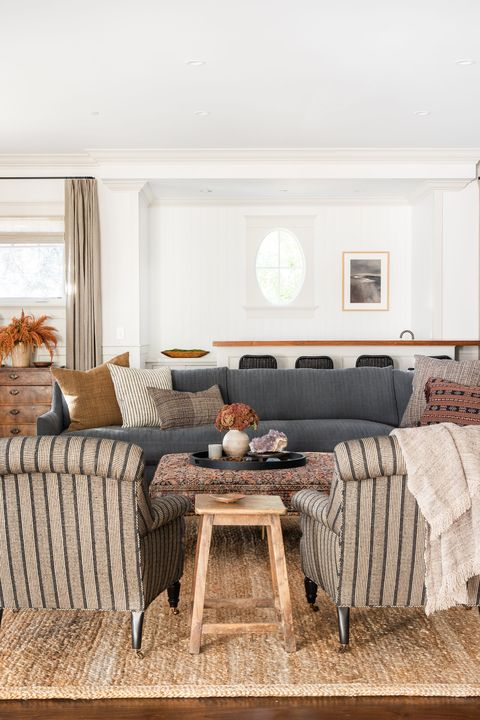 30 Stylish Family Room Design Ideas - Easy Decorating Tips for .