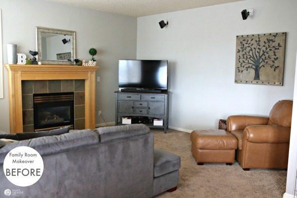 Family Room Ideas on a Budget   Today's Creative Li