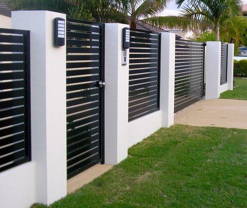 60 Gorgeous Fence Ideas and Designs | Modern fence design, Fence .