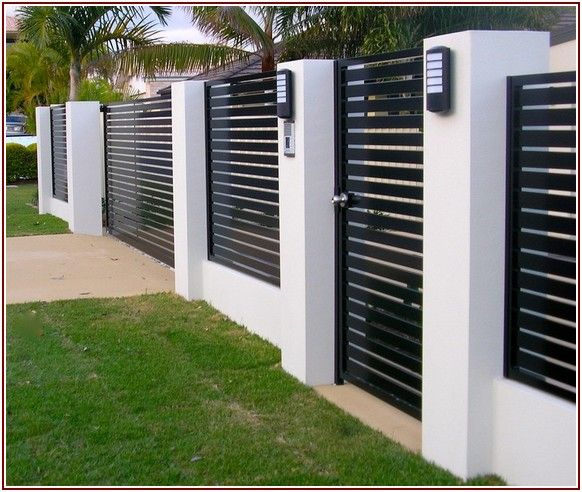 Great share Modern Fence Design Ideas | Забор для, Палисадники .