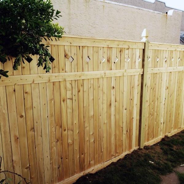 Top 70 Best Wooden Fence Ideas - Exterior Backyard Desig