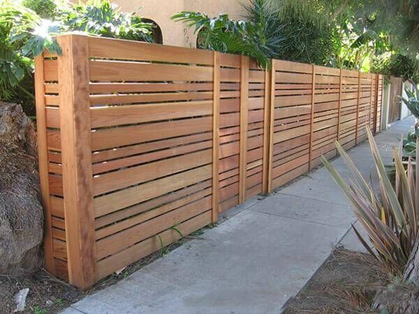 35 Awesome Wooden Fence Ideas for Residential Homes | Wood fence .