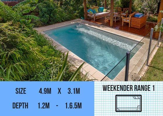 Our Fibreglass Pools | Fiberglass pools, Pool, Backyard po