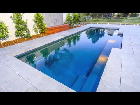 Narellan Pools Symphony Pool, Swimming Pools, Fibreglass Pools .