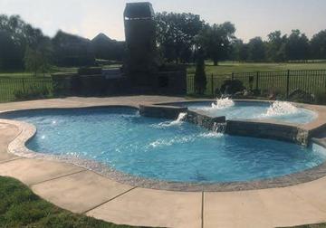 Tupelo, Mississippi Fiberglass Pools - Tallman Poo