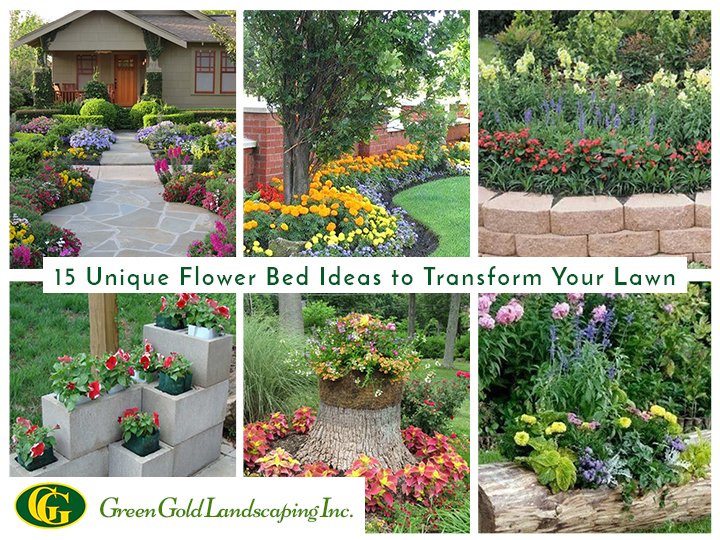 15 Unique Flower Bed Ideas for Lawn Lovers - GreenGold Landscapi