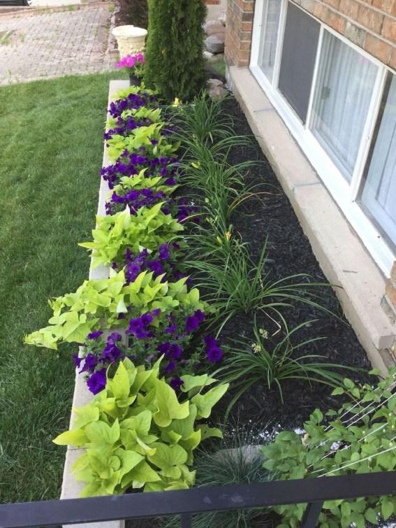 Discover 48 Simple Flower Bed Design Ideas For Front Landscape