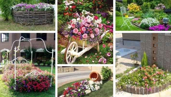 Wonderful DIY flower bed design ideas for a fantastic atmosphere .
