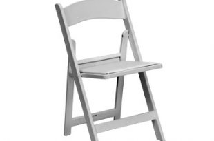 White Garden Folding Chair for Weddings and Parties from 5 Star Rent