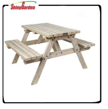 Beer Garden Table And Bench,5ft Picnic Table,Folding Wood Picnic .