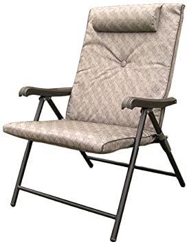 Amazon.com : Prime Products 13-3371 Brown Prime Plus Folding Chair .