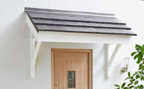 Front Door Canopy Ideas To Spruce Up Your Ho