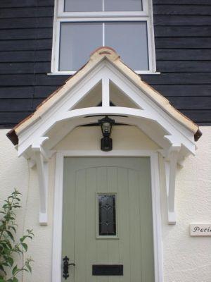 Door canopy_timber_verona style http://www.timberdoorcanopies.com .