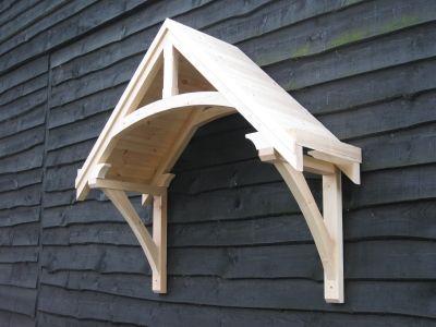 Timber door canopies- traditional cottage canopies - front door .
