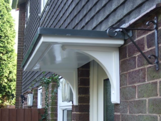 FLAT TOP DRIPROLL GRP FRONT DOOR CANOPY /PORCH £20 OFF NOW ONLY .