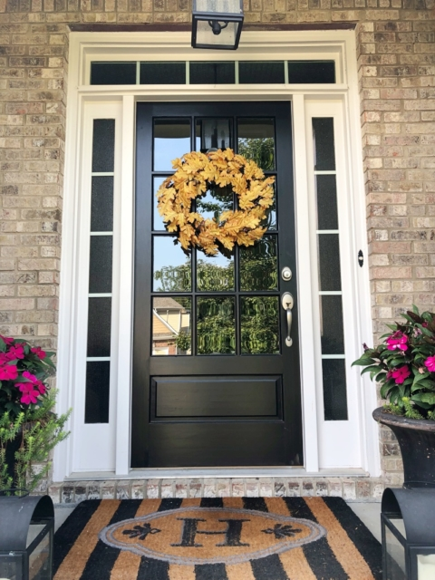 Curb Appeal: A New Front Door - Southern Hospitali