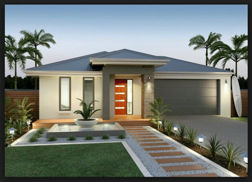 Facades (With images)   Bungalow house design, Front house .