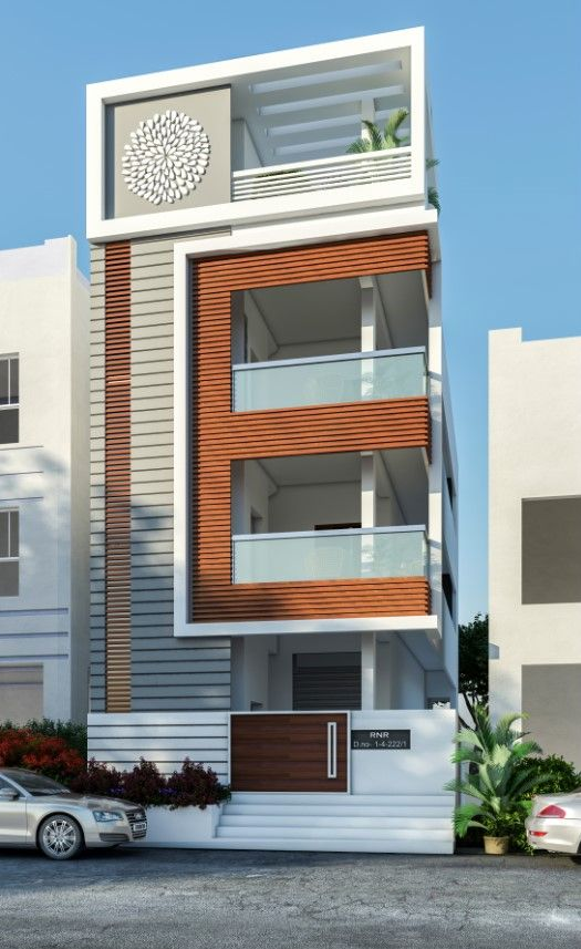 E-HOUSE on Behance   Small house elevation design, House front .