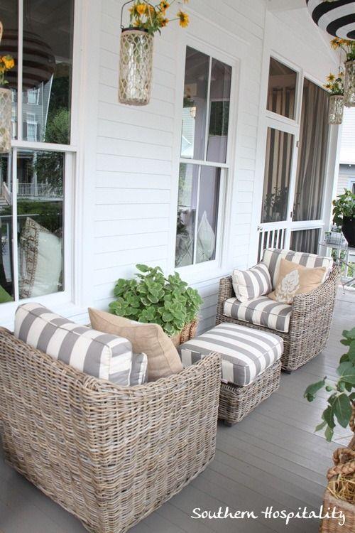 Feature Friday: Ballard Designs Bosch House at Serenbe | Porch .