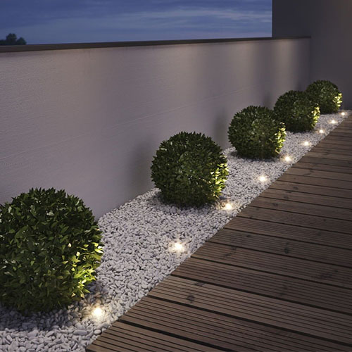 Ideas for Lighting a Modern Front Yard | YLighting Ide