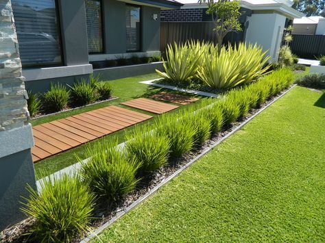 Best 100+ Awesome Modern Front Yard Gardening Ideas (4) - Home of .