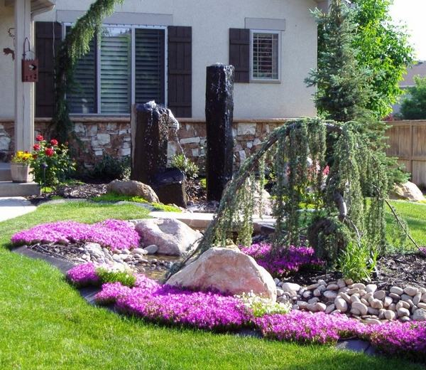 Creative solutions and landscaping ideas for small front yar