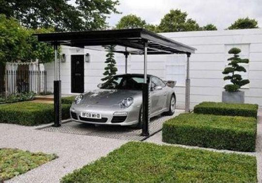 Modern-Garage-Design-Pictures.jpg 540×378 pixels | Parking design .