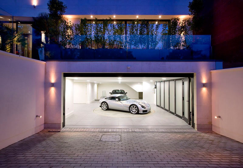 Garage Design Idea - Include A Car Turntable If You're Short On .