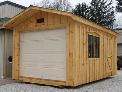 Garage Door Sheds - Shanty Genuine She