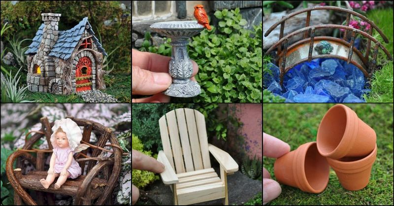 Fairy Garden Accessories – The Owner-Builder Netwo