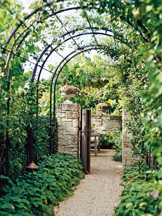 17 Stylish Arbor Ideas | Garden arches, Garden entrance, Outdoor .