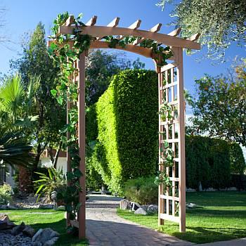 Garden Arbors, Arches & Trellis - Wood Kits - DIY Ced